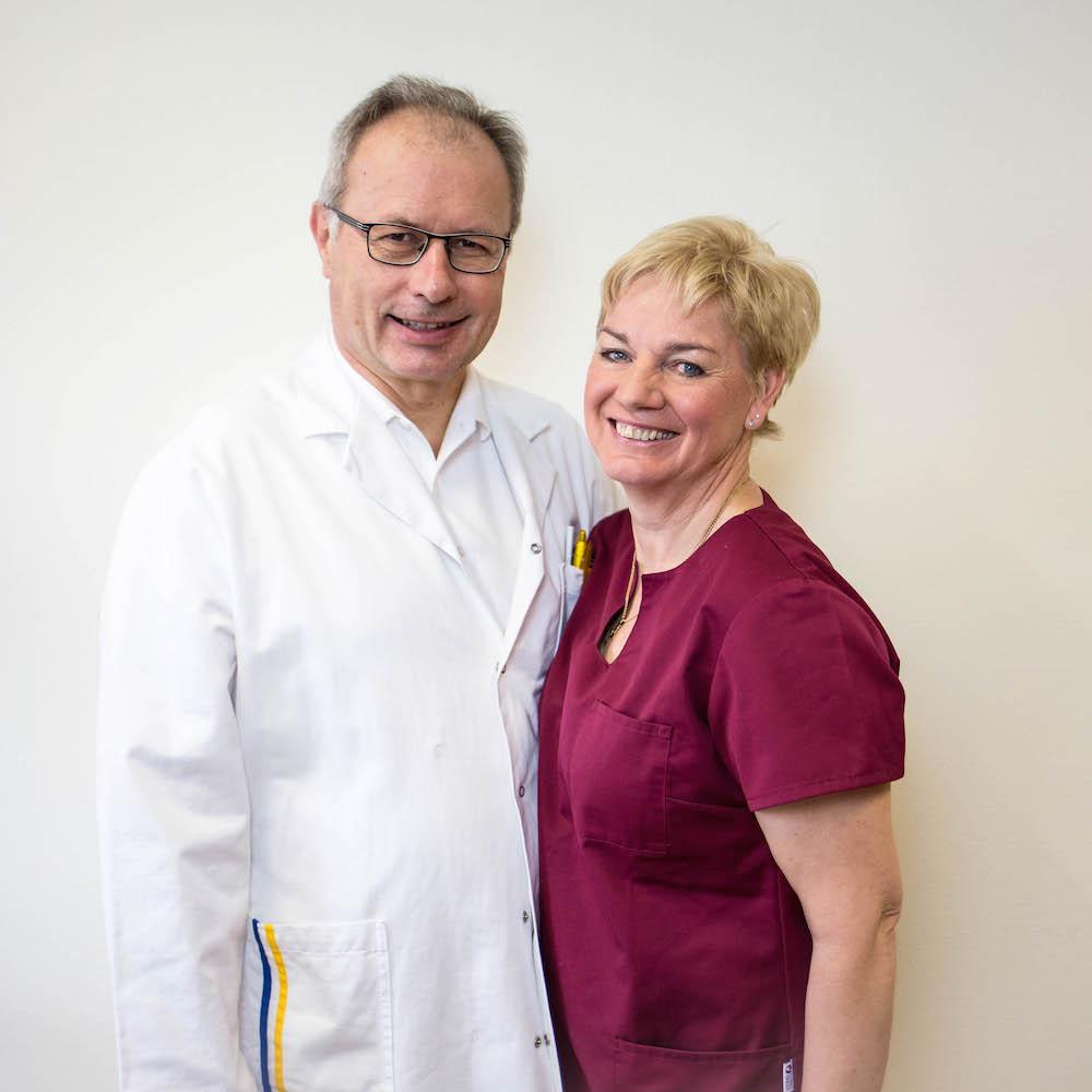 Prim. Prof. Dr. Martin Breitenseher & Andrea Breitenseher